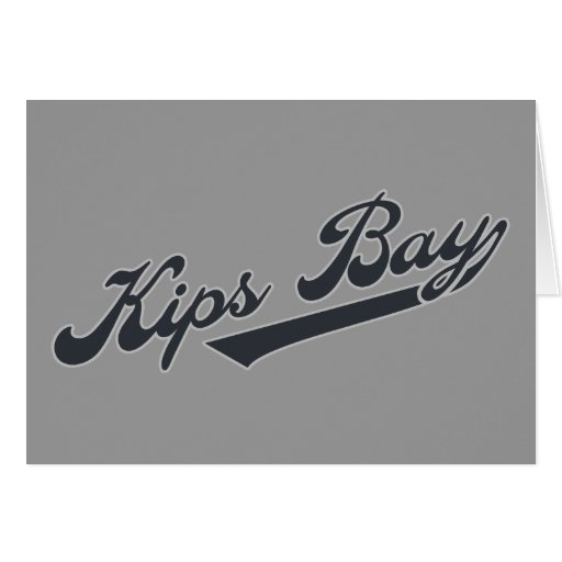 Kips Bay Greeting Card
