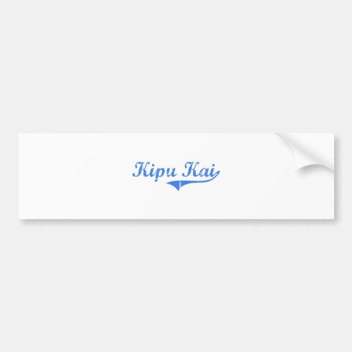 Kipu Kai Hawaii Classic Design Bumper Sticker
