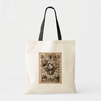 Kiralfy's, 'Paradise Lost' Retro Theater Canvas Bags