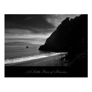 Kirby Beach - A Little Piece of Heaven Postcard