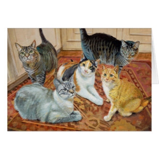 Kirby Cats Greeting Card