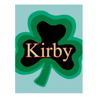 Kirby Family Postcard