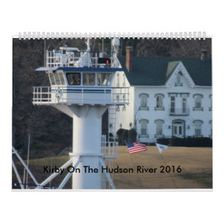 Kirby On The Hudson River 2016 Calendar