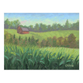 Kirby Vermont Barn Postcard