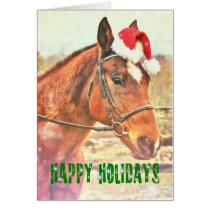 KIRBY'S CHRISTMAS WISH 5x7 Greeting Card