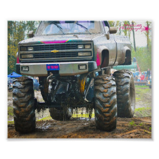 Kirby's Kompound, NY Mudbog Poster