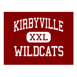 Kirbyville - gatos monteses - joven - Kirbyville Tarjetas Postales