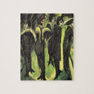 Kirchner: Five Women in the Street, Jigsaw Puzzles