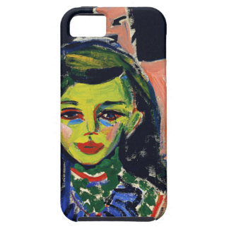 Kirchner Franzi and Chair iPhone 5 Case