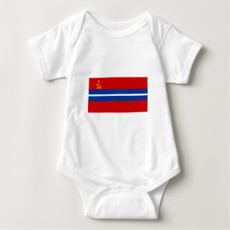 Kirghiz SSR Flag Baby Bodysuit