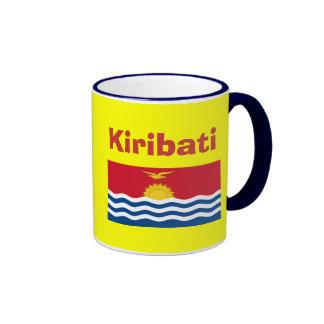 Kiribati Bold KI Mug* / キリバスマグ Ringer Mug