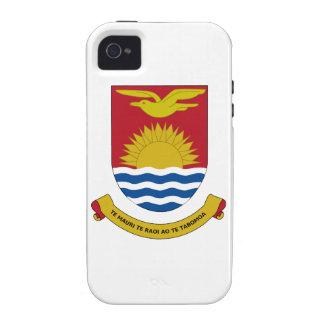 Kiribati Coat of Arms iPhone 4/4S Cases