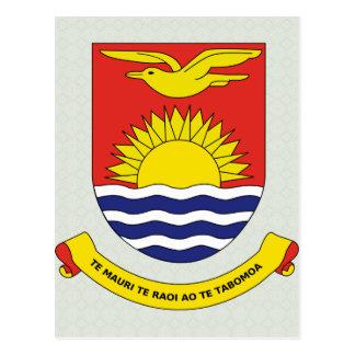Kiribati Coat of Arms detail Postcard
