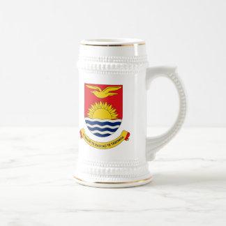Kiribati Coat of Arms Mug