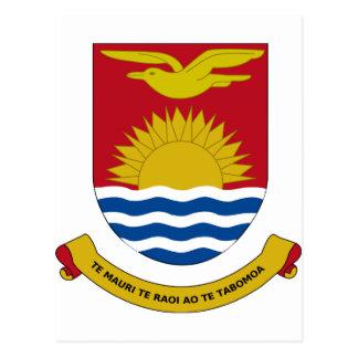 Kiribati Coat of Arms Postcard