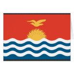 Kiribati Flag Greeting Card