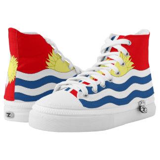 Kiribati Flag --.png High-Top Sneakers