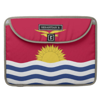 Kiribati Flag Sleeve For MacBooks
