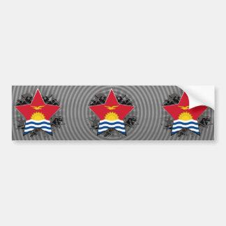 Kiribati Star Bumper Sticker