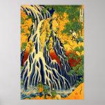 Kirifuri Waterfall at Mount Kurokami in Shimotsuke Posters