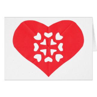 Kirigami Heart Card
