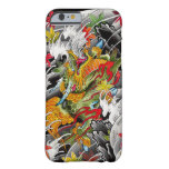 Kirin Japanese tattoo art watercolor painting Barely There iPhone 6 Case