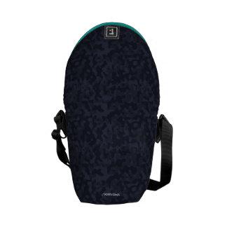 </KIRIYAMA >Logographic entering porch (blue) Courier Bag