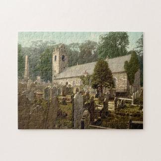 Kirk Braddan, Douglas, Isle of Man, England Jigsaw Puzzle