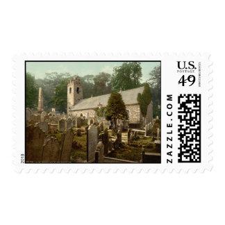 Kirk Braddan, Douglas, Isle of Man, England Stamp