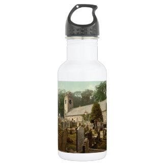 Kirk Braddan, Douglas, Isle of Man, England Stainless Steel Water Bottle