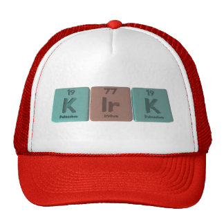 Kirk como potasio gorras de camionero