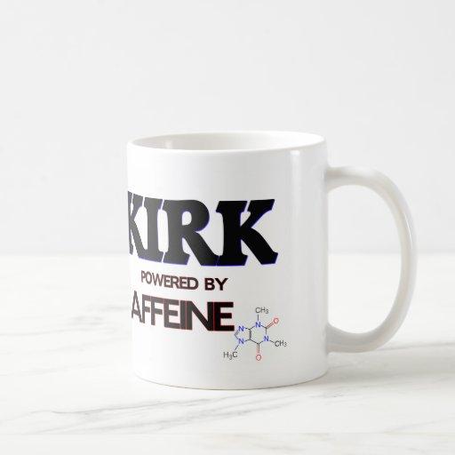 Kirk Powered by Caffeine Classic White Coffee Mug
