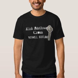 Kirk Ruthwell Cross Tee Shirt