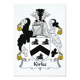 Kirke Family Crest Announcement
