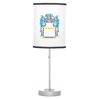Kirkeby Coat of Arms - Family Crest Table Lamp