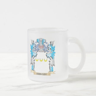 Kirkeby Coat of Arms - Family Crest 10 Oz Frosted Glass Coffee Mug