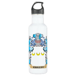 Kirkeby Coat of Arms - Family Crest 24oz Water Bottle