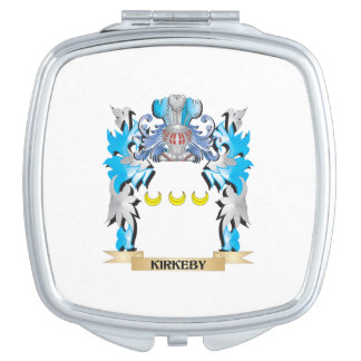Kirkeby Coat of Arms - Family Crest Makeup Mirror