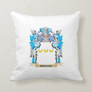 Kirkeby Coat of Arms - Family Crest Throw Pillow