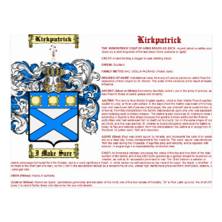 Kirkkpatrick (significado (Escocia)) Tarjetas Postales