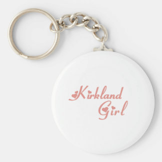 Kirkland Girl tee shirts Key Chain