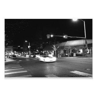Kirkland streets photo print