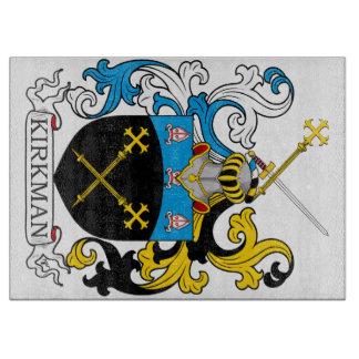Kirkman Family Crest Cutting Board