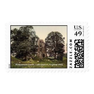 Kirkoswald Castle, Lake District, England 1905 Postage