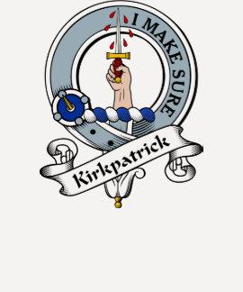 Kirkpatrick Clan Badge T Shirt