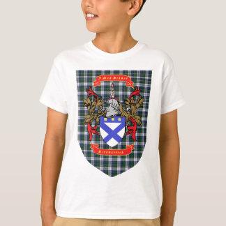 Kirkpatrick Crest on Colquhoun Dress Tartan