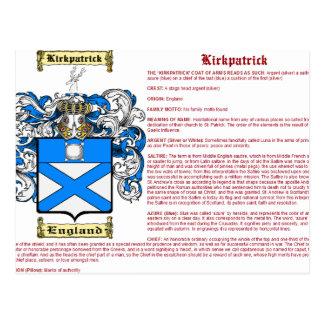 Kirkpatrick (Inglaterra (significado)) Tarjeta Postal