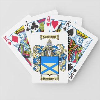 Kirkpatrick (ireland) bicycle playing cards