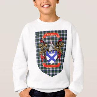Kirkpatrick Kilpatrick crest on Colquhoun Tartan Sweatshirt