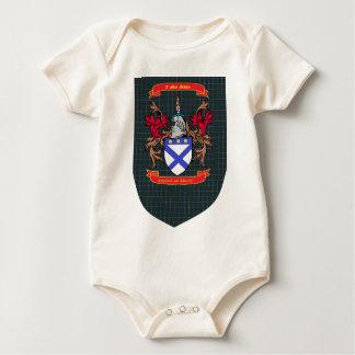 Kirkpatrick Kilpatrick crest on Douglas Shield Baby Bodysuit